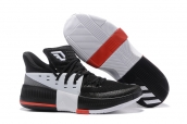 Adidas D Lillard 3 Black White Red