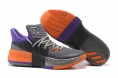 Adidas D Lillard 3 Grey Orange Purple