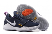 Nike Zoom PG 1 White Navy Blue