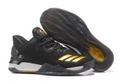 Adidas Rose 7 Low Black Gold
