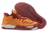 Adidas Rose 7 Low Orange Wine Red
