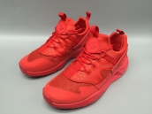 Nike Air Huarache 4 All Red Glow In Dark