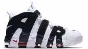 Air More Uptempo Black White