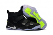 Nike Lebron Zoom Soldier 11 Black White Blue
