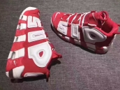 Nike Air More Uptempo Supreme White Red