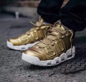 Nike Air More Uptempo Supreme Gold