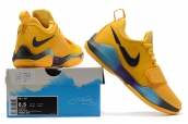 Nike Zoom PG 1 Yellow Black Blue