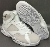 AAA Air Jordan 7 White Grey