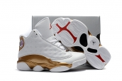 Air Jordan 13 Kid White Gold