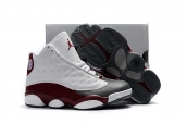 Air Jordan 13 Kid White Grey Red