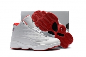 Air Jordan 13 Kid White Red