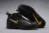Air Foamposite One Black Gold