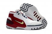 Nike Lebron 1 Air Zoom Generation White Red