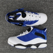 Air Jordan 6 Rings White Blue