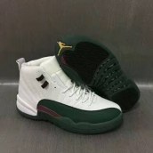 Air Jordan 12 AAA White Green