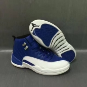 Air Jordan 12 AAA Blue White