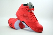 Air Jordan 5 Perfect Sueded Red Bulls