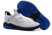 Air Jordan 8 Training Shoes White Blue