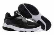 Air Jordan 8 Training Shoes Black White