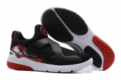 Air Jordan 8 Training Shoes Black White Red
