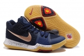 Nike Kyrie 3 Navy Blue Gold
