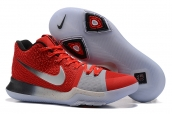 Nike Kyrie 3 Red Grey
