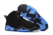 Air Jordan 6 Black Blue
