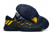 Adidas James Harden 2 Navy Blue Yellow