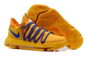 Nike Zoom KD 10 Yellow Blue
