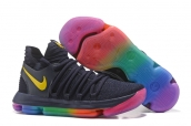 Nike Zoom KD 10 Black Rainbow