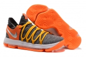 Nike Zoom KD 10 Grey Orange