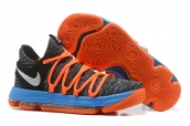 Nike Zoom KD 10 Grey Orange Blue