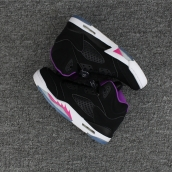 Women AAA Air Jordan 5 GS Deadly Pink