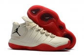 Air Jordan Superfly 6 White Red