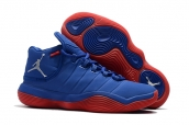 Air Jordan Superfly 6 Blue Red