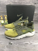 Nike Air Huarache Run Ultra Yellow Green