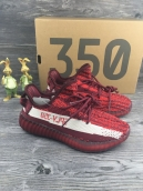 Women Adidas yeezy boost 350V2 Red