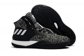 Adidas Rose 8 Black White