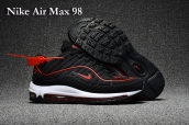 Nike Air Max 98 Black Red