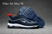 Nike Air Max 98 Navy Blue White