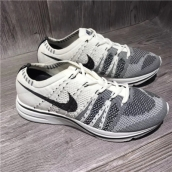 Nike Flyknit Trainer Grey White Black