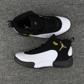 Air Jordan Jumpman Pro Black White  Gold