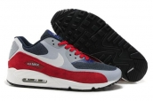 Air Max 90 Hyp Prm Red Grey Blue