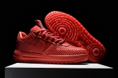 Nike Lunar Force 1 Duckboot Low Red