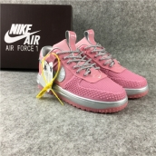 Women Nike Lunar Force 1 Duckboot Low Pink
