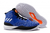 Adidas Rose 8 Blue Orange