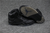 AAA Air Jordan 5 All Black