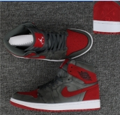 AAA Air Jordan 1 Grey Red