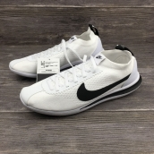 Women Nike Cortez Flyknit White Black