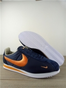 Women Nike Cortez Navy Blue Gold